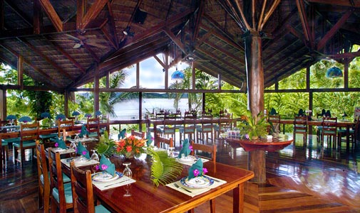 aguila-de-osa-dinning, South America, Costa Ria, Drake Bay, Aguila de Osa, Inn, marine, nature, rainforest, activities, sustainable, accommodations