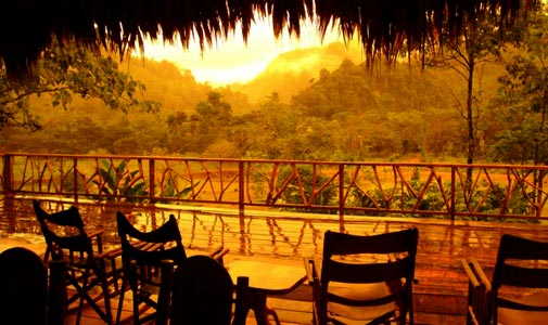 rafiki-safari-lodge-view, Central America, Costa Rica, Quepos, Manuel Antonio, Rafiki Safari, lodge, rainforest, africa, luxury, tents, pool, nature, activities,